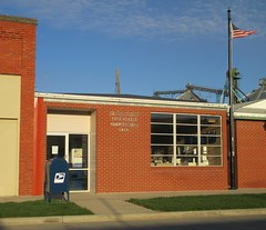 Post Office 68843 (Hampton, Nebraska) (courthouselover) Tags: nebraska ne hampton postoffices hamiltoncounty