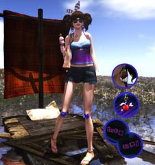 Funny Sum Outfit::MM5 Rock! (pia_moonwall) Tags: mocha neo lovesoul monso sweetleonard wasabipills {montissu} fameshed mm5rock imekaposes