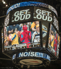 Get Loud (Tom Frundle Photography) Tags: sports hockey nhl tn nashville pentax professional k5 nashvillepredators downtownnashville 2013 nhlhockey bridgestonearena tomfrundlephotography