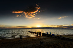 sunset  - Mentone beach (john@aus) Tags: