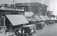 then and now Bartlett Hotel - Jerome, AZ JJ1 (redrock flyer) Tags: oldbuildings jerome thenandnow jeromeaz