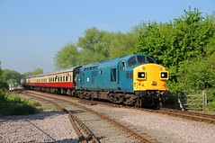 37109 - Orton Mere 19/05/13 (James Welham) Tags: blue br junction valley gala mere peterborough nene orton nvr longueville wansford 37109