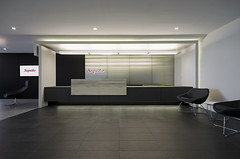 Saputo Reception 3 (interprisedesign) Tags: modern design office interior lobby business signage interiordesign conferenceroom receptionarea saputo interprise