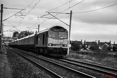Super Sixty (InterCity Photography) Tags: city station photography power ratcliffe no 21st may db class coal empties alistair 60 intercity inter dbs schenker grimley alsager 079 2013 60079 21052013