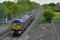 47786 & 47854 0z45 (DM47744) Tags: lane class47 47854 47786 0z45 darkinson