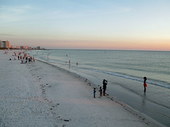 Clearwater Beach (BuccaneerBoy) Tags: family sunset hot beach gulfofmexico water fun spring sand florida may shore clearwaterbeach clearwater