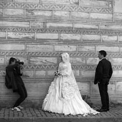 wedding photoshoot (OlaAlexandrova) Tags: portrait people bw man men 6x6 turkey istanbul bronica medium format sqa