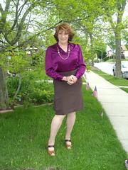Laurette Victoria (Laurette Victoria) Tags: wisconsin spring auburn blouse milwaukee laurette pencilskirt laurettevictoria