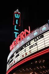 The Wiltern marquee