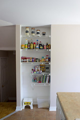 IMG_3944 (Orcansee) Tags: food home open pantry shelving