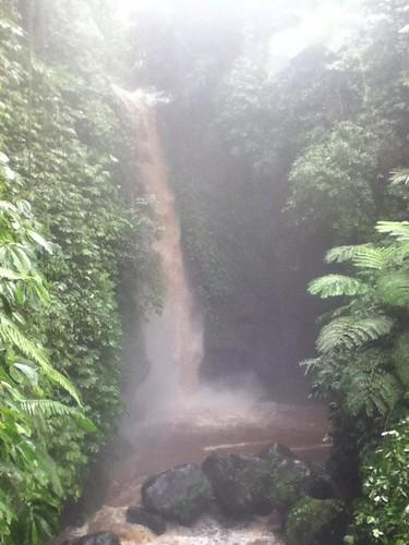 Jeruk Manis Waterfall, Desa Tetebatu, Central Lombok, A