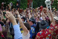 The Ukelele Festival in Cairns 2013 (Sallyrango) Tags: people music candid festivals australia uke cairns worldmusic musicfestival ukelele worldmusicfestival ukelelefestival2013