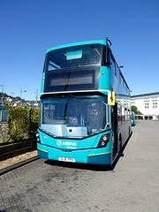 Arriva Medway 6801 SL16YPH Bluewater Shopping Centre Tuesday 19th July 2016 Wrightbus Streetdeck (Bexleybus) Tags: shopping mercedes kent centre bluewater route and 700 medway arriva 6801 wrightbus streetdeck sl16yph