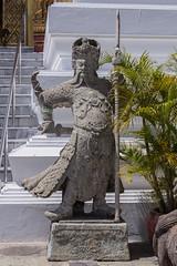 2016/07/28 10h57 Grand Palais (Phra Nakhon) (Valry Hugotte) Tags: bangkok grandpalais palaisroyal phranakhon thailand thalande sculpture soldat statue krungthepmahanakhon