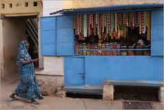 blues, badami (nevil zaveri (thank you for 10 million+ views :)) Tags: zaveri india badami street shop colour color blue karnataka photography photographer images photos blog stockimages photograph photographs nevil nevilzaveri stock photo man men people woman women