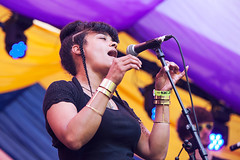 Alternative Dubstep Orchestra @ Mostly Jazz Festival 5 (preynolds) Tags: concert gig livemusic dof canon5dmarkii mark2 raw tamron2470mm frontwomen singer singing hiphop festival birmingham music musician moseley moseleyprivatepark stage stagelights counteractmagazine noflash mostlyjazz2016