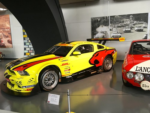 2012 Ford Mustang GT3 VDS Racing 5.4Litre V8