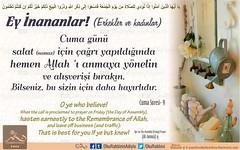 Hayrl Cuma'lar... (Oku Rabbinin Adiyla) Tags: allah kuran quran islam ayet verse god religion bible mosque islamic tevhid pray oku