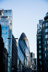 Gherkin (ADSINUK) Tags: modern modernist building london travel stmaryaxe gherkin modernism city cityscape 2016 travelphotography design architecture
