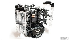 009 (HaeunDaddy) Tags: lego brick hobby batman catwoman selina kyle dark knight darkknight dc commics movie armor suit black creation custom figure mov moc afol