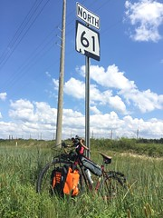 image (The Goat Whisperer) Tags: bob dylan highway hwy 61 salsa bike bicycle touring alabama bama