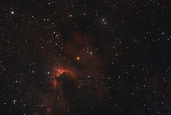 Cave nebula (with ha) (__Aenima__) Tags: astronomy astrophotography asi120mc astronomik atik astro backyard bi baader cygnus ccd cepheus constellation deepskyobject dslr dso digital deepskystacker dark deepsky ed80 350d emission eq6 exposure filter finderguider finderscope halpha ha hydrogen hii imaging image skywatcher longexposure layered luminance mono mosaic nebula narrowband night neq6 nebulosity nature cave caldwell 9 calibration oiii processed phd2 photoshop eq refractor reflectionnebula space stars sky stacking shot star saturation dust red telescope tracking autoguided uk light pollution widefield zwo