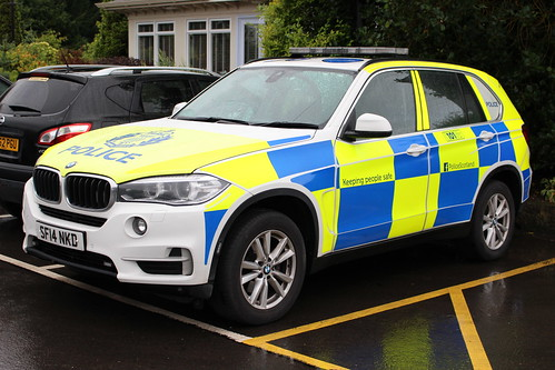GM SF14 NKD BMW X5 POLICE SCOTLAND