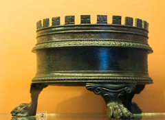 IMG_0186 (jaglazier) Tags: 2016 72316 altars campania copyright2016jamesaglazier furniture grecoroman italy july museoarcheologiconazionale museoarcheologiconazionaledinapoli naples napoli national nationalarchaeologicalmuseum nazionale religion rituals shrines archaeology art bronze cast castbronze crafts lionclaw metalworking