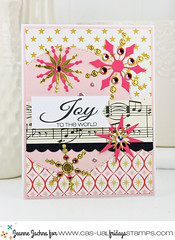Joy to the World (akeptlife) Tags: casualfridays card cardmaking stamping snow die papercrafting christmas