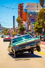 Life in the Mission (Thomas Hawk) Tags: america california flickrphotowalk kingofthestreets mission missiondistrict photowalk sanfrancisco sanfranciscolowridercouncilkingofthestreet usa unitedstates unitedstatesofamerica westcoast auto automobile car lowrider fav10 fav25