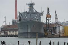 Pier 70 USS Guadalupe 9-2016 (daver6sf@yahoo.com) Tags: p70 pier70 portofsanfrancisco ussgaudalupe warehouse6