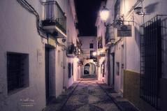(262/16) Altea de noche (Pablo Arias) Tags: pabloarias espaa spain hdr photomatix nx2 photoshop nocturna texturas cielo arquitectura altea alicante comunidadvalenciana soledad tranquilidad serenidad