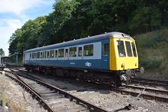 W55005 at Shackerstone (colin9007) Tags: battlefield railway line shackerstone gloucester rcw class 122 railcar w55005