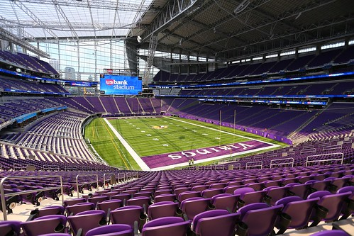 U.S. Bank Stadium interior