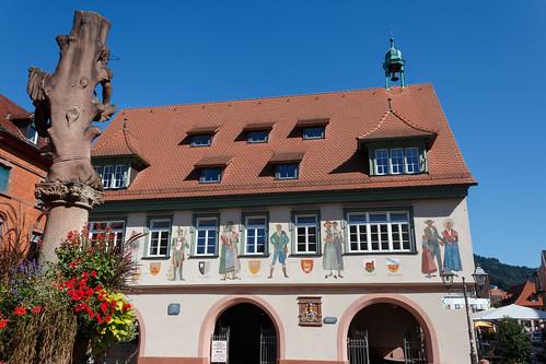 La Mairie de Haslach im Kinzigtal