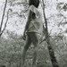 Laurine in the woods - Woman portrait - Analog