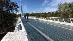 Sundial Bridge time-lapse (throgers) Tags: sundialbridge calatrava redding shastacounty timelapse bridge video