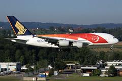 Singapore Airlines Airbus A380-841 9V-SK (widebodies) Tags: zürich zrh lszh widebody widebodies plane aircraft flughafen airport flugzeug flugzeugbilder singapore airlines airbus a380841 9vsk