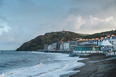 New Bandstand on the Prom (Rory Prior) Tags: wales aberystwyth beach promenade seaside bandstand coast shore hill town sea