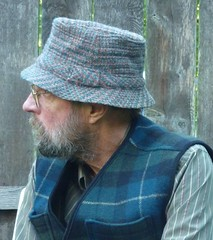 "Norm Thompson ""Original Irish Country Hat"" (Michael A2012) Tags: hat irish walking country wool tweed norm thompson vintage handwoven connemara"