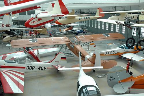 """Deutsches Museum Flugwerft Schleißheim: View of the """"Alte Werfthalle"""" - The historic maintenance hangar"""