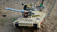 lego m1-abrams (warbrick1) Tags: lego legowar legomilitary legominifigures tank legotank legoustank