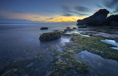 Watu Bolong Beach Twilight (SadAgus) Tags: watubolong beach beauty seascape landscape indonesia nikond800 nikonphotography nationalgeographic sunset