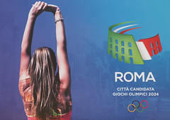 Roma 2024 ... The Perfect Choice (RoySutherland235) Tags: rome roma wewantroma2024 olympics olympicgames candidatecity