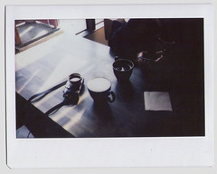 (unchisa iempimpan) Tags: polaroid fujifilm instax wide fujifilminstaxwide cafe morning home filmphotography film filminhome ishootfilm onthetable