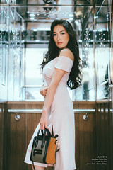 Sanctus (barleyphoto) Tags: anadari fashion portrait portraits portraiture street brands catalog catalogue editorial model asian mongolia mongolian asianmodel sunglasses kingscross london londonlife boots taxi blackcab handbag summer dress