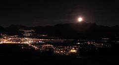 Mond ber dem Sarganserland (Tica) Tags: nachtaufnahmen
