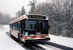TTC 7349 D40 LF BAYVIEW STEELES WINTER (bishop71701) Tags: ttc torontotransitcommission d40lf 7349 newflyer bus snow winter toronto ontario bayview steeles 2002