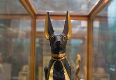 Anubis Shrine of King Tut's Tomb - Cairo Museum (vercetty00) Tags: anubis shrine tutankhamun tutankhamon cairo museum sony1650f28 egypt