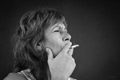 You smoke the day's last cigarette, remembering what she said (Kuzz1984) Tags: mother smoker smokes cigarettes smoke everyday ritual croatia slavonija hrvatska outdoor